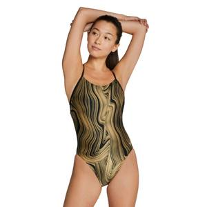 Dripping In Gold Relay Back Onepiece