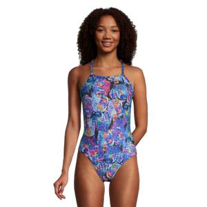 Print Strappy Back Onepiece