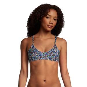 Print Tie Back Bikini Top