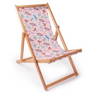 Harry Potter Honeydukes Pattern Deck Chair