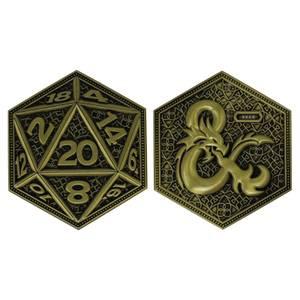 Fanattik Dungeons & Dragons Limited Edition Coin