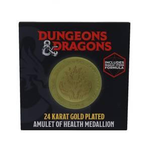 Fanattik Dungeons & Dragons Limited Edition 24k Gold Plated Medallion