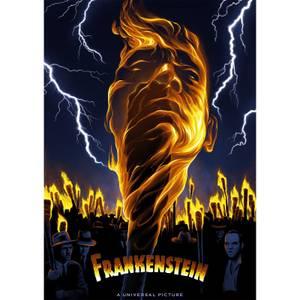 Fanattik Frankenstein Limited Edition Print