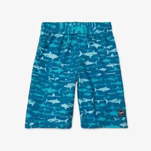 "Sharked Printed Boardshort 17"""