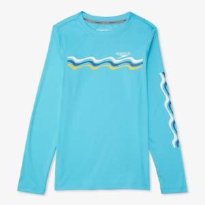 Long Sleeve Graphic Swim Shirt