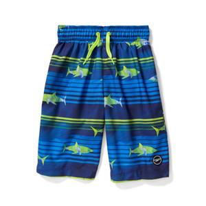 Shark Print Volley W/ Comfort Liner