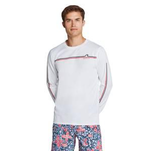 Graphic Long Sleeve Swim Shirt