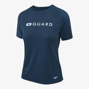Guard Short Sleeve Solid Swim Tee