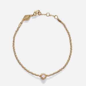 Anni Lu Women's Grand Balani Bracelet - Pink Opal