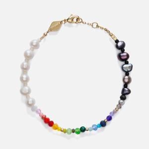 Anni Lu Women's Iris Pearl Bracelet - Multi