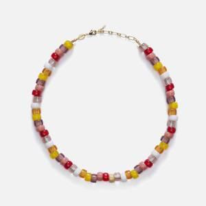 Anni Lu Women's Poolside Tipsy Necklace - Multi