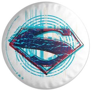 Superman Icon Round Cushion