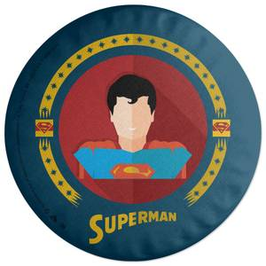 Superman Graphic Art Round Cushion