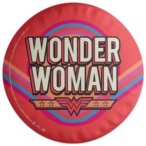 Wonder Woman Logo Round Cushion