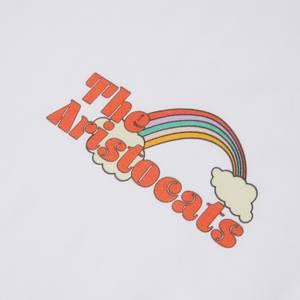 Disney The Aristocats Unisex Ringer T-Shirt - White / Black