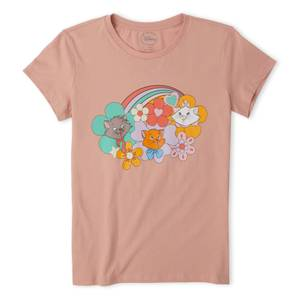 Disney The Aristocats Women's T-Shirt - Dusty Pink
