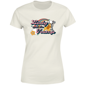 Disney Lady And The Tramp Women's T-Shirt - Cream