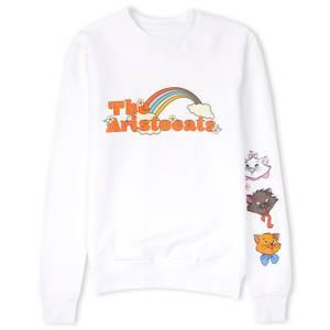 Disney The Aristocats Unisex Sweatshirt - White