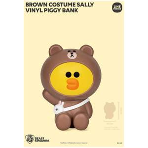 Beast Kingdom Line Friends Vinyl Piggy Bank - Sally (Brown Costume)