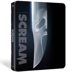 Scream - Zavvi Exclusive 4K Ultra HD Steelbook (Includes Blu-ray)