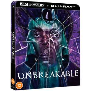 Unbreakable - Zavvi Exclusive 4K Ultra HD Steelbook (Includes Blu-ray)