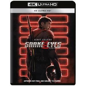 GI Joe - Snake Eyes - 4K Ultra HD (Includes Blu-ray)