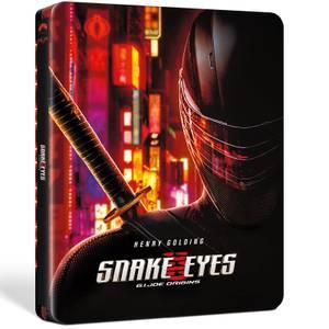 GI Joe - Snake Eyes - Steelbook 4K Ultra HD (Blu-ray inclus) en Exclusivité Zavvi