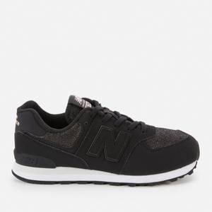 New Balance Kids' 574 Trainers - Black