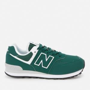 New Balance Kids' 574 Trainers - Green