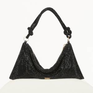 Cult Gaia Women's Hera Mini Rhinestone Bag - Black