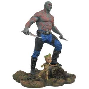 Diamond Select Marvel Gallery Guardians of the Galaxy Vol. 2 PVC Figure - Drax & Baby Groot