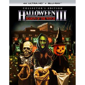 Halloween III: Season On The Witch - 4K Ultra HD Collector's Edition (Includes Blu-ray)