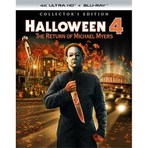 Halloween 4: The Return of Michael Myers - 4K Ultra HD Collector's Edition (Includes Blu-ray)