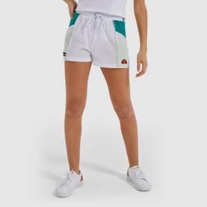 Stripe Shorts White