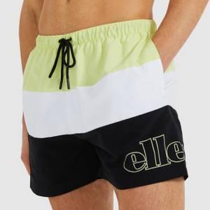 Masio Swimshorts Light Green/White