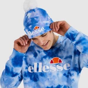 Velly Pom Pom Beanie Blue Tie Dye