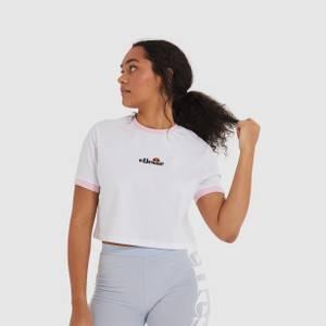Derla Crop Tshirt White
