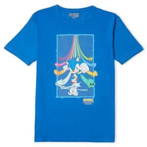 Sonic The Hedgehog Colours Ultimate Men's T-Shirt - Blue
