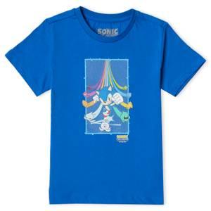 Sonic The Hedgehog Colours Ultimate Kids' T-Shirt - Blue