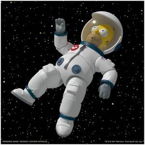 Super7 The Simpsons ULTIMATES! Figure - Deep Space Homer