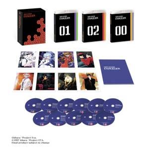 Neon Genesis Evangelion – Zavvi Exclusive Collector's Edition Blu-ray