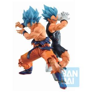 Bandai Ichibansho Figure Son Goku(Super Saiyan God Super Saiyan)&Vegeta(Super Saiyan God Super Saiyan) (Vs Omnibus Super) Statue