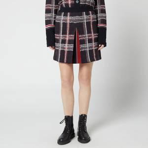 Thom Browne Women's Mini Skirt With Box Pleat - Multi