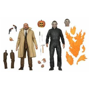 NECA Halloween 2 Michael Myers and Dr Loomis 2 Pack Ultimate 7 Inch Action Figures