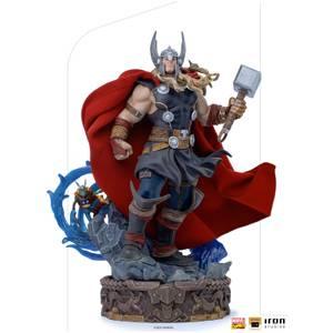 Iron Studios Marvel Comics Deluxe Art Scale Statue 1/10 Thor Unleashed 28 cm