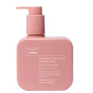 endota spa Pink Grapefruit and Lemon Aspen Hand and Body Wash 250ml