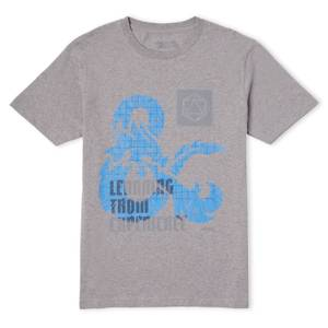 Dungeons & Dragons Learning From Experience Unisex T-Shirt - Grey
