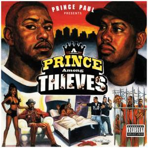 Prince Paul - A Prince Among Thieves 2xLP (Orange and Yellow Splatter)