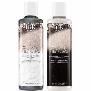IGK First Class Detoxifying Shampoo and Conditioner Bundle