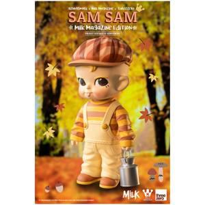 Kennyswork X ThreeZero Sam Sam Vinyl Figure (Milk Magazine Edition)